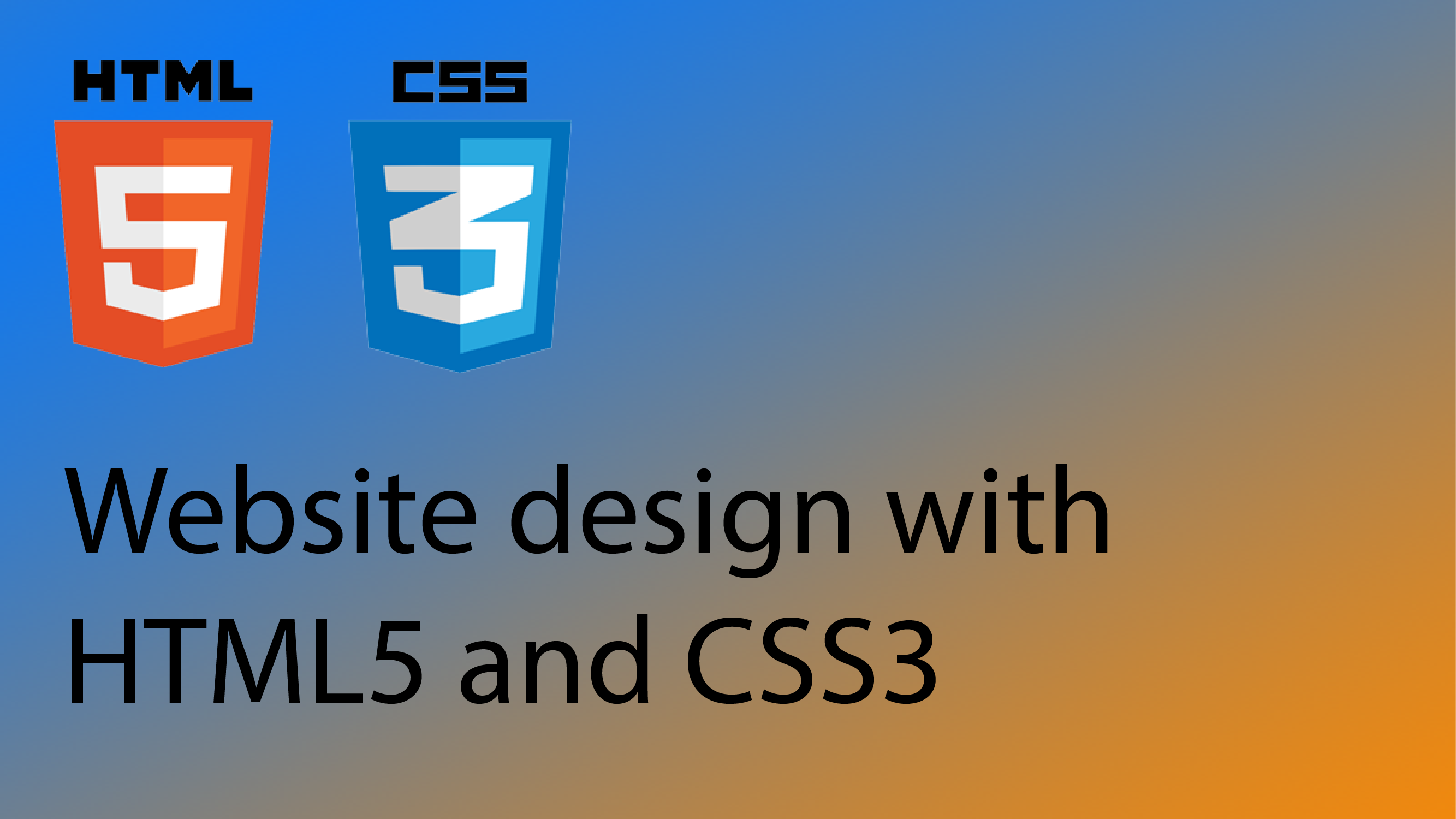 Html css codemahal welcome to the html5 and css3 tutorial series if youre looking to learn how to design and develop your own website then you are in the right place baditri Image collections