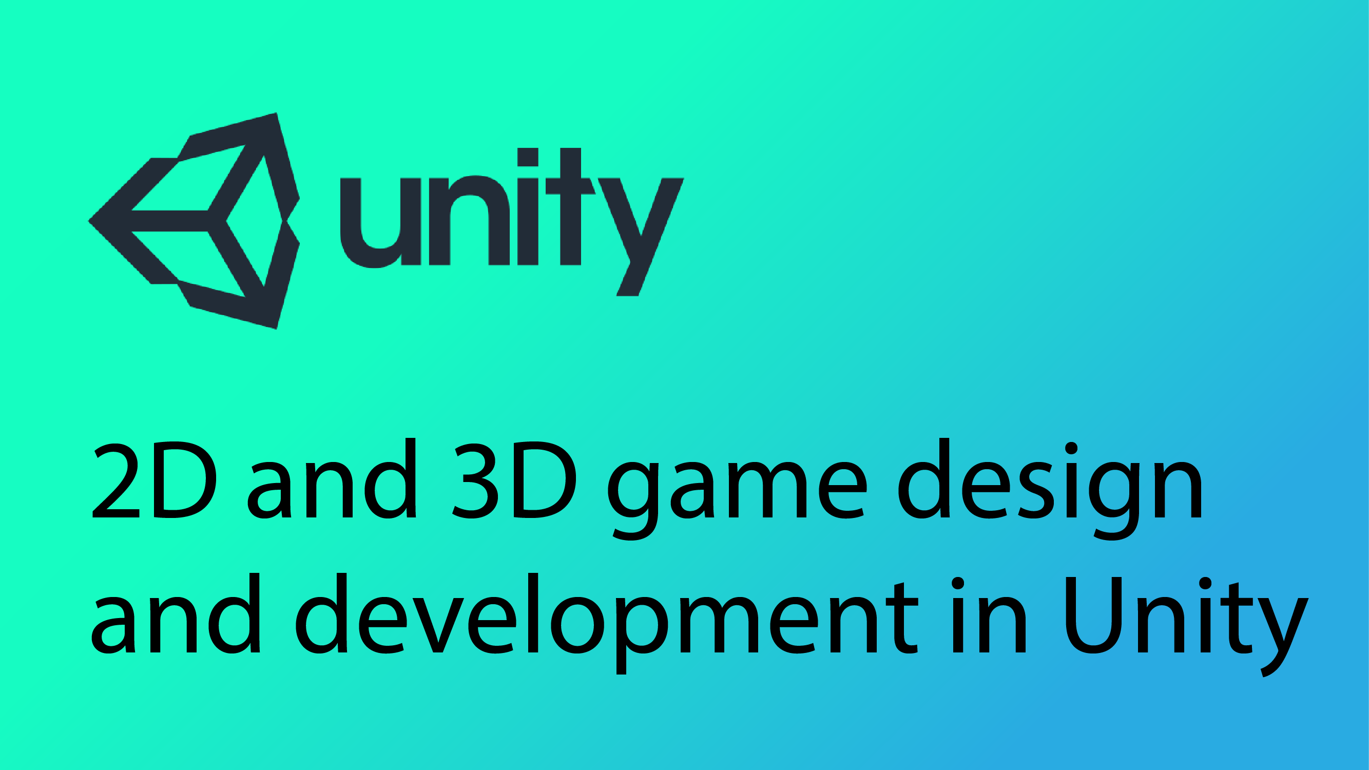 Unity 2D and 3D Game Development – CodeMahal