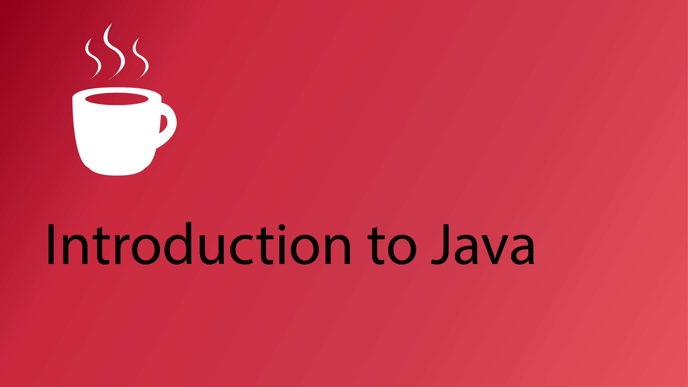 Java tutorials codemahal welcome to the java programming tutorial series this series will teach you the fundamentals of coding in the java language and object oriented programming baditri Gallery